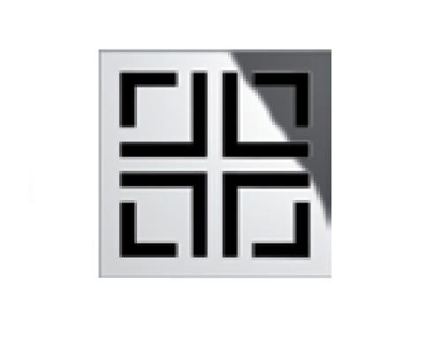 TECE Решетка из полированной стали royal 2 (310 00 02)