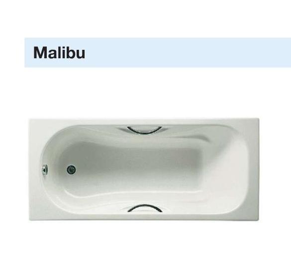 Roca Ванна Malibu 170*75 с ручками и опорой