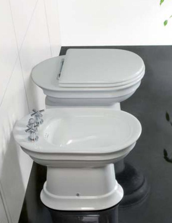 Hatria Унітаз підлоговий DolceVita з сидінням (злив до стіни) (Y0HA)