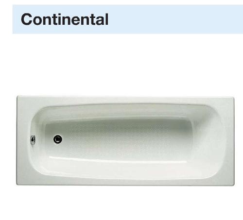 Roca Ванна Continental 170*70 з ніжками
