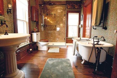 Викторианская ванная в доме Деб Ремси