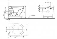 Подвесной унитаз ТОТО NC Series