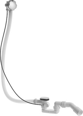 Комплект слива-перелива для центрального выпуска Duravit D-Code 790226