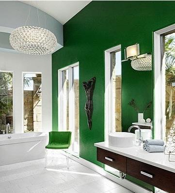 Cучасна ванна кімната, яскраві кольори, современная ванная комната, яркие цвета