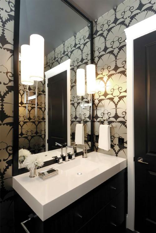 Красивая ванная комната, красива ванна кімната