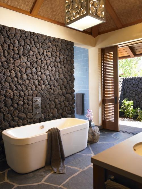 ванна в кантри-стиле