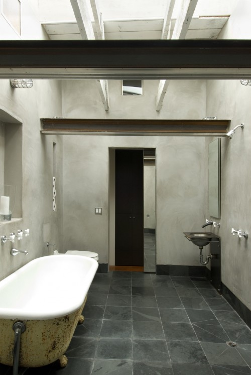 Современная минималистическая ванная комната, сучасна мінімалістична ванна кімната