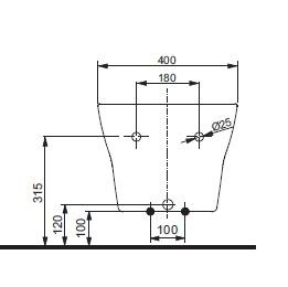 Біде консольне ТОТО МН Series BW10045G