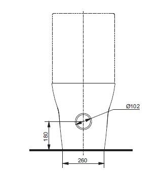 Бачок керамічний ТОТО МН Series SW10044G