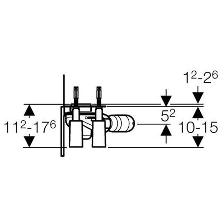 Дренажний канал Geberit Uniflex 154.105.00.1