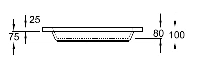 Душовий піддон 90х90 Villeroy&Boch O.novo 6027 A9 XX