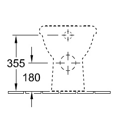Унітаз підлоговий Villeroy&Boch O.novo 5657 10 XX