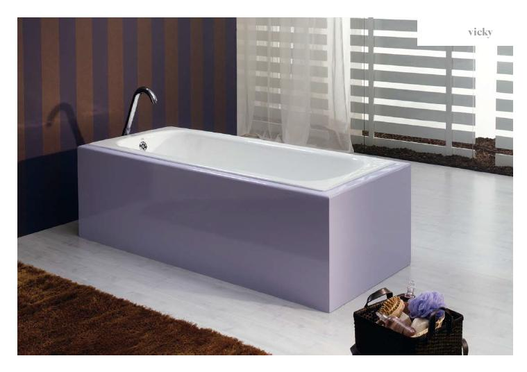 Recor Ванна VICKY 140х70