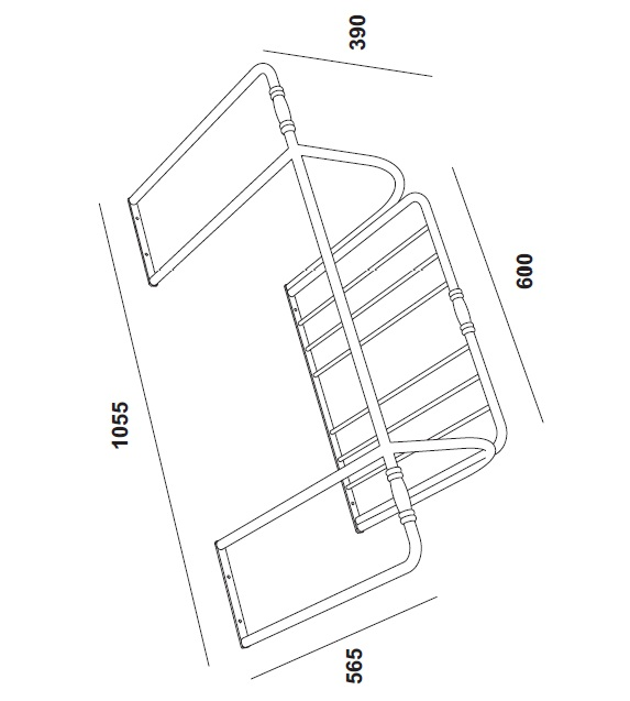 Тримач для рушника на умивальник Olympia Impero 81.МО