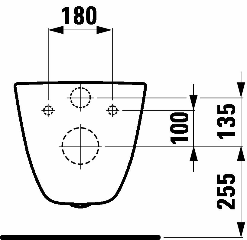 Унітаз консольний Laufen PRO 820956