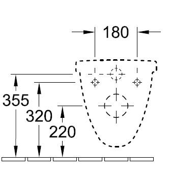 Унітаз консольний Villeroy&Boch O.novo з кришкою softclose 566H1001