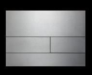 Панель подвійного зливу TECEsquare, метал. нержав. сталь. Сатин.  9.240.810