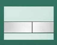 Панель подвійного зливу TECEsquare, скло, зелена 9.240.804