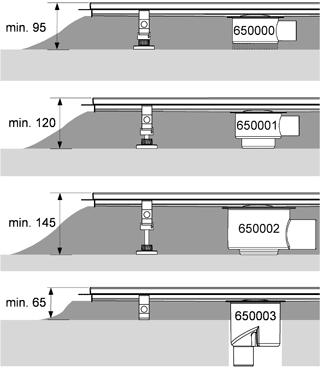TECE Дренажний канал кутовий TECEdrainline (6 109 00)