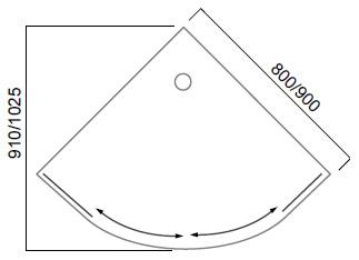 Душевая кабина Huppe X1 120601