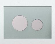 Лицьова панель TECEloop modular, скло, сіро-блакитний(Alape) 9.240.677