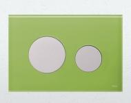 Лицьова панель TECEloop modular, скло, зелений(Burgbad) 9.240.685