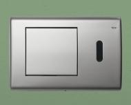 TECEplanus 6 V-Batterie панель змиву з інфрачервоним датчиком, нержавіюча сталь. Сатин 9.240.350