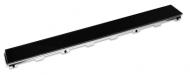 Скляна панель ТЕСЕdrainlinе, для зливу 6 012 92 (чорне скло)