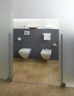 Панель змиву для пісуару TECEloop urinal пластикова, хром глянц. 9.242.626