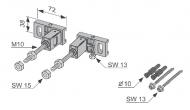 Комплект для монтажу інсталяції до стіни TECEprofil 9.380.000
