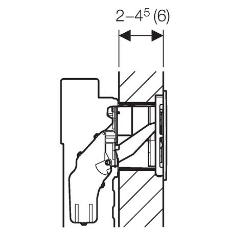 Клавіші змиву Geberit Sigma40 (115.600.KQ.1)