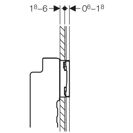 Клавіші змиву Geberit Sigma60 115.792.GH.1