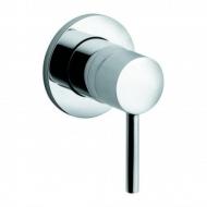 Вбудований змішувач для душу з гігієнічним душовим гарнітуром Kludi Bozz