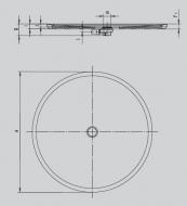 Душовий піддон Kaldewei PIATTO 800