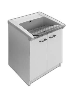 Тумба з умивальником для пральні YXNW+YXMC