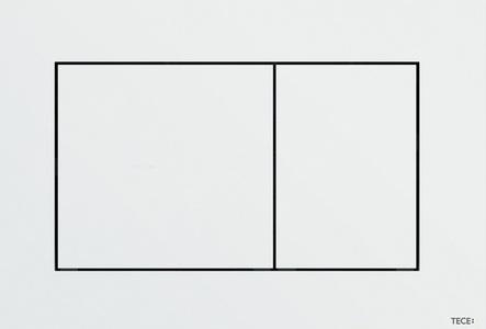 Панель двойного слива TECEnow, белый 9.240.400